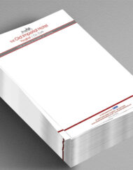 a4 letterhead stack